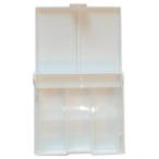 Коробка под акварель ЗХК 12 цв. пластик