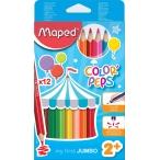 Карандаши 12-ти цв. Maped Color Peps Maxi
