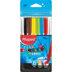 Фломастеры  6цв Maped Colorpeps пакет