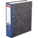 Папка-регистратор 70мм Erich Krause мраморная  синяя