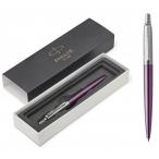 Ручка шариковая Parker Jotter Victoria Violet CT фиолет. корпус, нержав. сталь, синяя, М