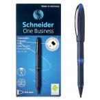 Ручка-роллер Schneider One Business синяя, прорезин. поверхность, 0,6мм.