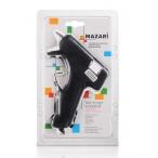 Пистолет клеевой Mazari 20 Вт., диаметр стержней 0,7 см., блистер