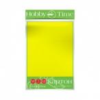 Картон А4 Альт HobbyTime 5л., желтый, 220 г/кв.м.