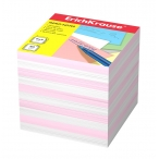 Бумага для заметок Erich Krause 9х9х9 2 цв., розовый