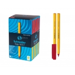 Ручка шариковая Schneider Tops 505 F красная, 0,3мм.