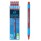Ручка шариковая Schneider Slider Edge M красная