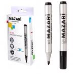 Маркер Mazari Action черный, перманентный, пулевидный пиш.узел 2 мм
