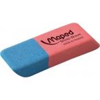 Ластик MAPED Duo Gom средний, каучук, д/карандашей и чернил