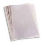 Обложка Pro Mega Pffice д/термопереплета, белая, карт./пласт., 20мм., 60шт./уп.