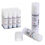 Клей-карандаш Mazari Hitomy 21гр., для бумаги, картона, фотографий, ткани