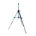 Мольберт Малевичъ тренога, аллюминиевый, синий, высота до 155см.