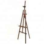 Мольберт Малевичъ Лира макс. высота холста 135см., ширина основ. 70см., высота 180см.