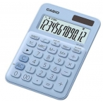 Калькулятор Casio MS-20UC-LB-S-EC светло-голубой, 12 разряд., настольный, 105х150х23