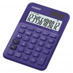 Калькулятор Casio MS-20UC-PL-S-EC фиолетовый, 12 разряд., настольный, 105х150х23