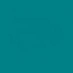 Бумага цветная Folia А4 голубой морской, 130г/м2.