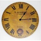 Часы настенные 58см с картинкой круглые,  дерево