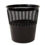 Корзина д/бумаг Schreiber  9л., черная, пластик