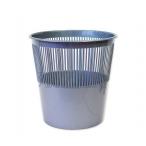 Корзина д/бумаг Tukzar  9л., серебрянная, пластик