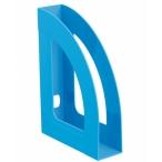 Лоток д/бумаг Стамм Респект вертикальный голубой