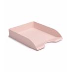 Лоток д/бумаг Стамм Дельта горизонтальный, розовый