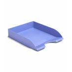 Лоток д/бумаг Стамм Дельта горизонтальный, голубой