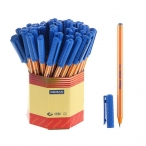 Ручка шариковая Pensan Offispen синяя, 1мм.