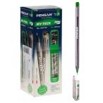 Ручка шариковая Pensan My Tech зеленая, 0,7мм.