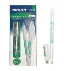 Ручка шариковая Pensan Global зеленая, 0,5мм.