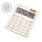 Калькулятор Citizen SDC-810NRWHE, 10 разряд., белый, дв.питан.,127*105*21 мм, европодвес