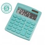 Калькулятор Citizen SDC-810NRGNE, 10 разряд., бирюзовый, дв.питан.,127*105*21 мм, европодвес