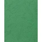 Обложка А4 картон кожа 230г/м2, зеленая (100)