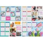 Расписание уроков BG А4 Девочки горизонтальное, ассорти