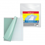 Набор обложек Erich Krause Fizzy Clear для тетрадей и дневников, 212х347мм., 50мкм, пластик, 10шт.