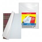 Набор обложек Erich Krause Fizzy Clear для конт. карт, атласов и тетрадей A4, 306х426, 50мкм., 10шт.