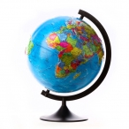 Глобус  политический  D=320мм. рельефный, классик