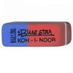 Ластик Blue Star Koh-I-Noor 6521/80 красно-синий