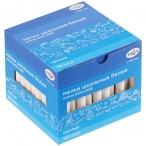 Мел белый Гамма 100шт., круглый, мягкий, картон. упак., европодвес