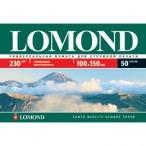 Фотобумага Lomond А6 230гр  50л.10х15 односторонняя глянцевая д/струйной печати