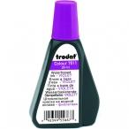 Краска штемпельная Trodat  28мл фиолетовая