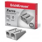 Точилка Erich Krause на 2 отверстия металлическая