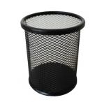 Подставка-стакан Miraculous, круглый, сетка, черный