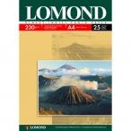 Фотобумага Lomond А4 230гр. 25л. односторонняя глянцевая д/струйной печати