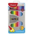 Карандаши 12-ти цв. Maped Color Peps  метал.коробка