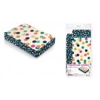 Коробка подарочная Арт Дизайн Круги прямоугольная, 150х250х50