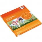 Пластилин 24цв. ГАММА Оранжевое солнце (6классич., 6 с блестк., 6перлам, 6флуор.), 312г, со стеком