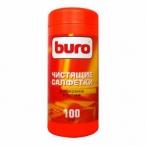 Салфетки чистящие Buro для экранов и оптики 100шт.